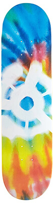04 Stereo Skateboards Tie Dye Skateboard deck Design