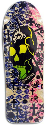 10 Vision Old Ghost Skateboard Deck Design