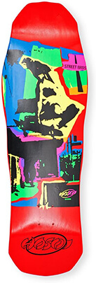 15 Hosoi Pop Art 87 Skateboard Deck Design