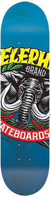 17 Elephant Large Logo Skateboard Deck Design