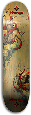 18 ztuntz Skateboard DP Satelliting Deck Design